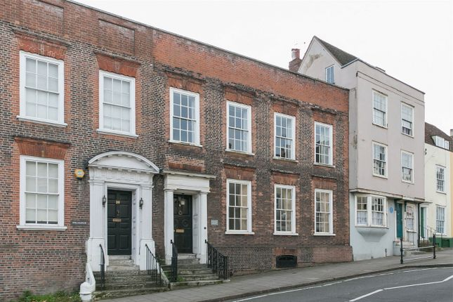 Thumbnail Town house for sale in East Hill, Colchester, Essex