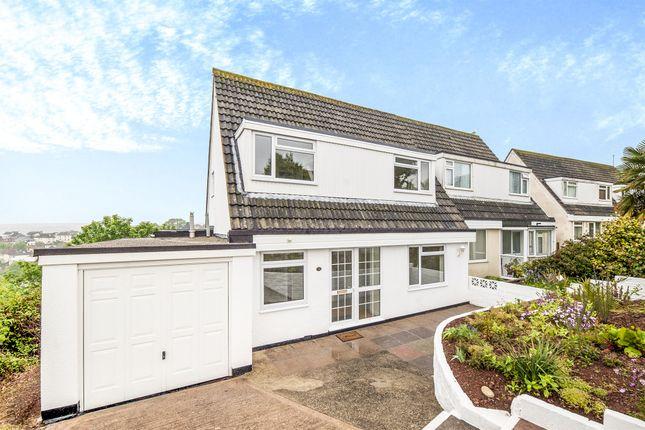 Thumbnail Semi-detached house for sale in Pentridge Avenue, Torquay