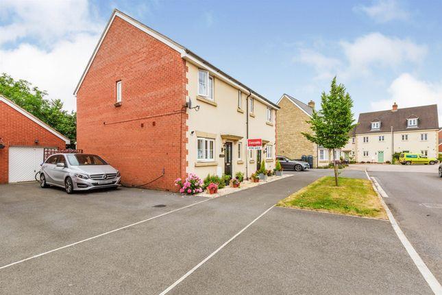 Thumbnail Semi-detached house for sale in Skylark Road, Melksham