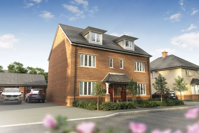 "Thumbnail Semi-detached house for sale in ""The Marlowe"" at Wood Lane, Binfield, Bracknell"