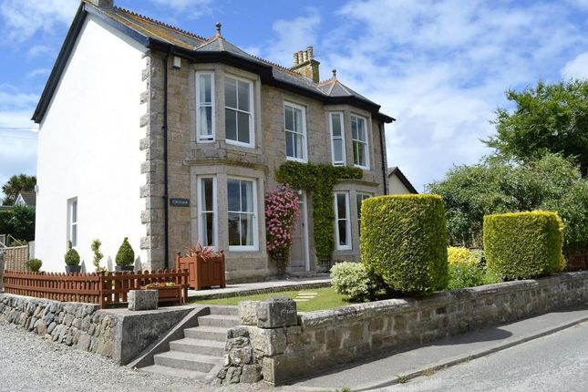 Thumbnail Detached house for sale in Church Road, Lelant, St. Ives, Cornwall