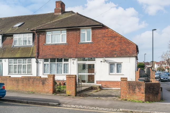 Thumbnail End terrace house for sale in Waddon Court Road, Croydon