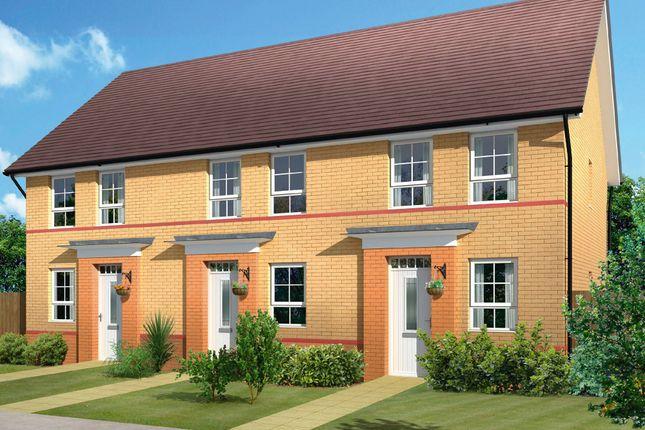 "Thumbnail Semi-detached house for sale in ""Ashford"" at Darlaston Road, Wednesbury"