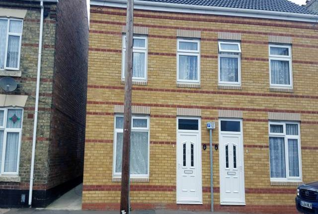 Thumbnail Semi-detached house to rent in Bamber Street, Peterborough