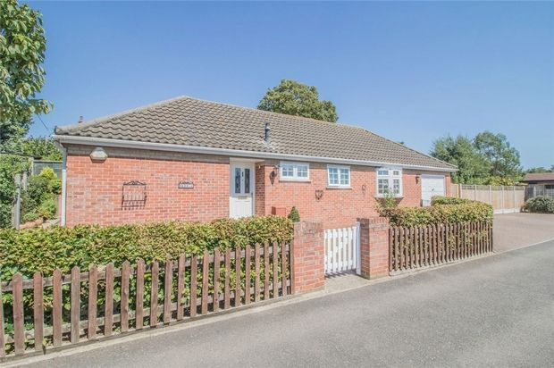 Thumbnail Detached bungalow for sale in Mallows Field, Halstead