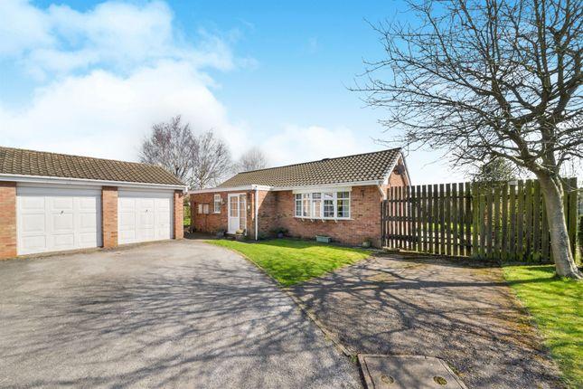 Thumbnail Detached bungalow for sale in Norfolk Close, Hucknall, Nottingham