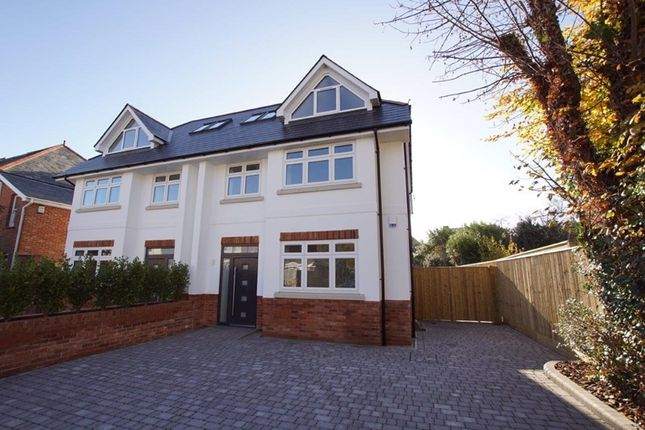 Thumbnail Semi-detached house for sale in Sandringham Road, Lower Parkstone, Poole