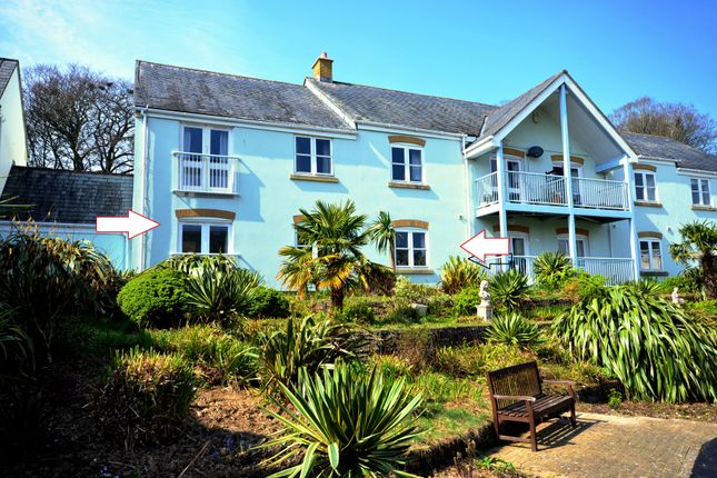 Thumbnail Flat for sale in 8 St Anthony House, Roseland Parc, Tregony, Cornwall
