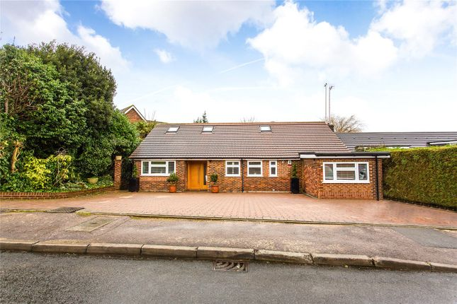 Thumbnail Detached bungalow for sale in Willow Dene, Bushey Heath, Hertfordshire