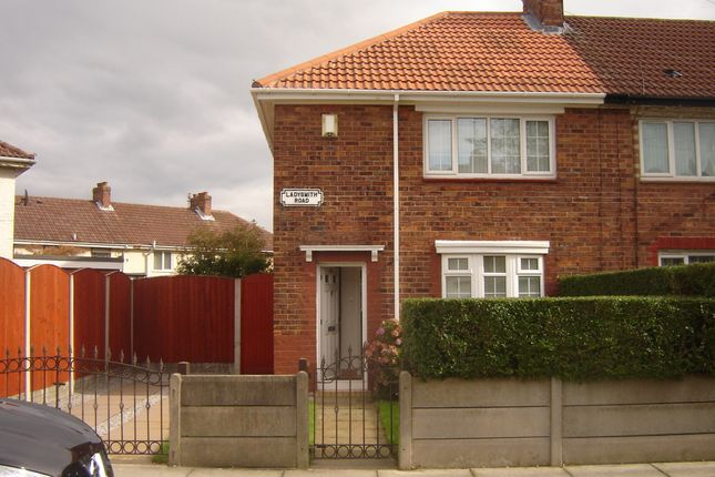 Thumbnail Semi-detached house to rent in Ladysmith Road, Liverpool