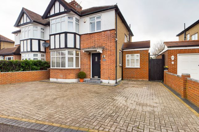 Thumbnail Semi-detached house for sale in North View, Pinner