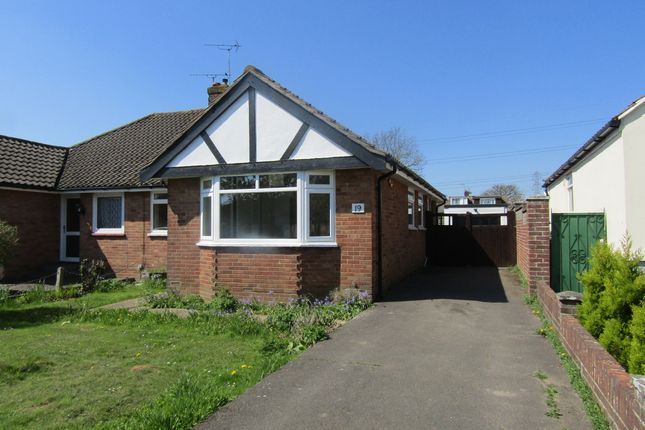 Thumbnail Semi-detached bungalow to rent in Sunnymead Drive, Waterlooville