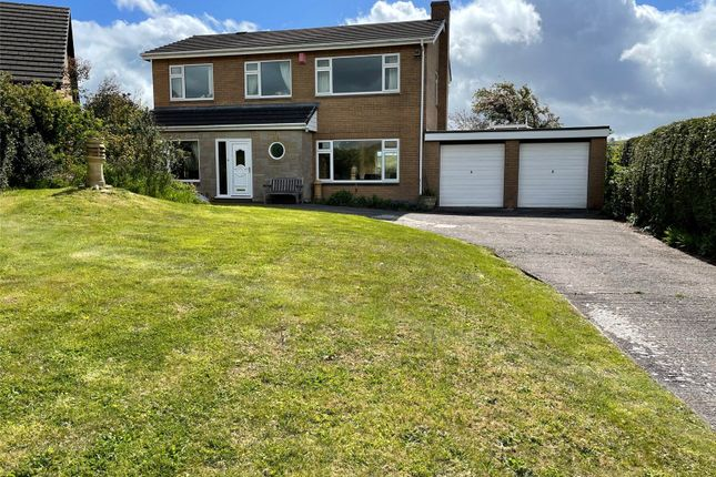 Thumbnail Detached house for sale in Churchill Drive, Newtown, Powys