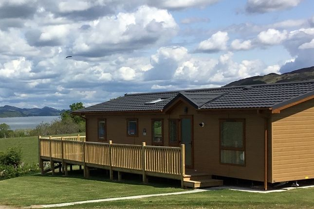 Thumbnail Lodge for sale in Castle Sween Holiday Park, Achnamara