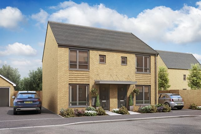 """Thumbnail Semi-detached house for sale in """"The Alnwick Special """" at St. Andrews Road, Malvern Link"""