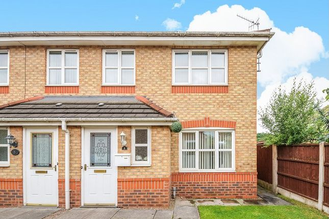 Thumbnail Semi-detached house for sale in Lakeside Close, Etruria, Stoke-On-Trent, Staffordshire