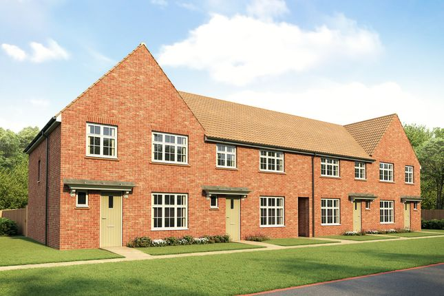 Thumbnail Terraced house for sale in Plots 1, 2, 3 & 4 - The Warwick, Grove Lane, Stonehouse