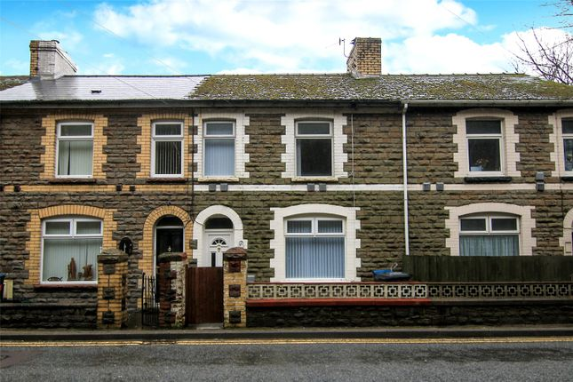 Thumbnail Terraced house for sale in Aberbeeg Road, Abertillery, Gwent