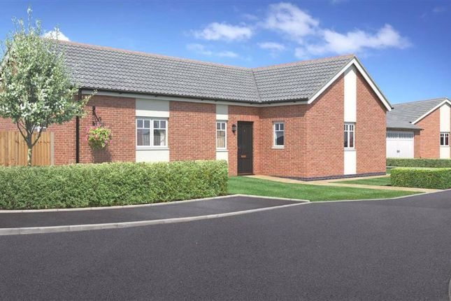 Thumbnail Bungalow for sale in Plot 1, Weavers Rise, Upper Chirk Bank, Oswestry, Shropshire