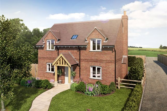 Thumbnail Detached house for sale in Rye Common, Odiham, Hampshire