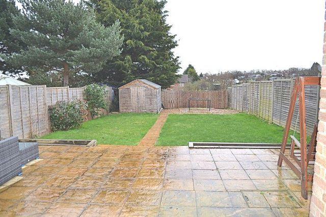 Rear Garden of Gloucester Crescent, Delapre, Northampton NN4