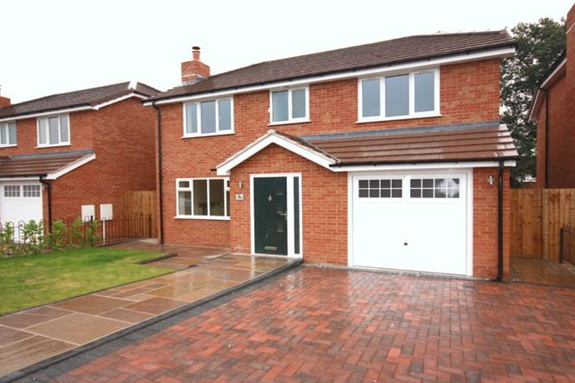 Thumbnail Detached house for sale in Spinney Drive, Weston, Crewe