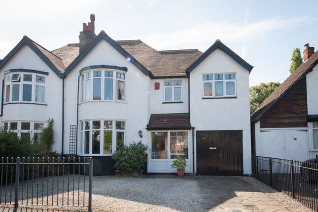 Thumbnail Semi-detached house for sale in Cremorne Road, Four Oaks, Sutton Coldfield