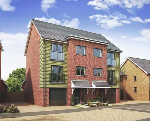 Thumbnail Semi-detached house for sale in Springhead Park, Wingfield Bank, Northfleet, Gravesend