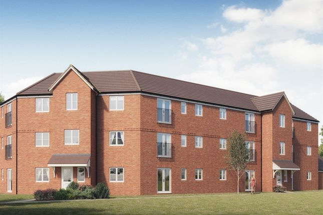 "Thumbnail Flat for sale in ""Trowbridge House"" at Pennings Road, Tidworth"