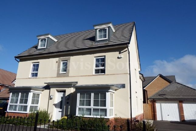 Thumbnail Detached house for sale in Jubilee Park, Newport, Gwent.