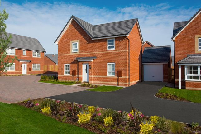 "Thumbnail Detached house for sale in ""Radleigh"" at Ponds Court Business, Genesis Way, Consett"