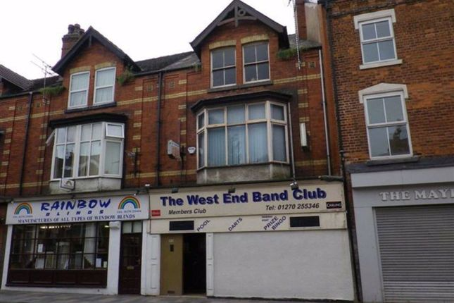 Thumbnail Restaurant/cafe for sale in West Street, Crewe, Cheshire