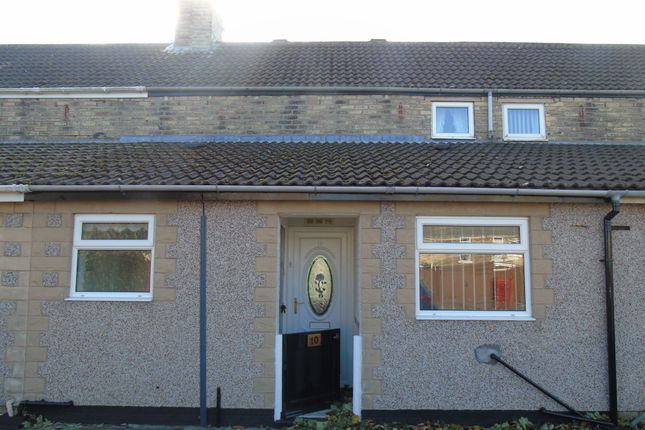 Thumbnail Terraced house to rent in Seventh Row, Ashington