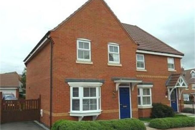 Thumbnail Semi-detached house to rent in Mill Furlong, Oaklands, Rugby, Warwickshire