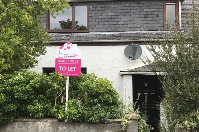 Thumbnail Terraced house to rent in Culcabock Avenue, Inverness