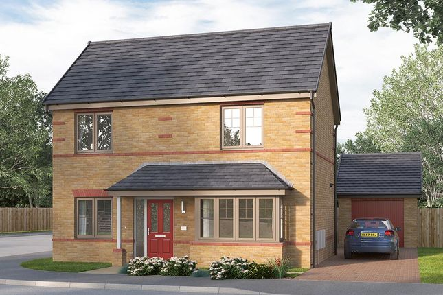 "Thumbnail Detached house for sale in ""The Kintbury"" at Ward Road, Clipstone Village, Mansfield"