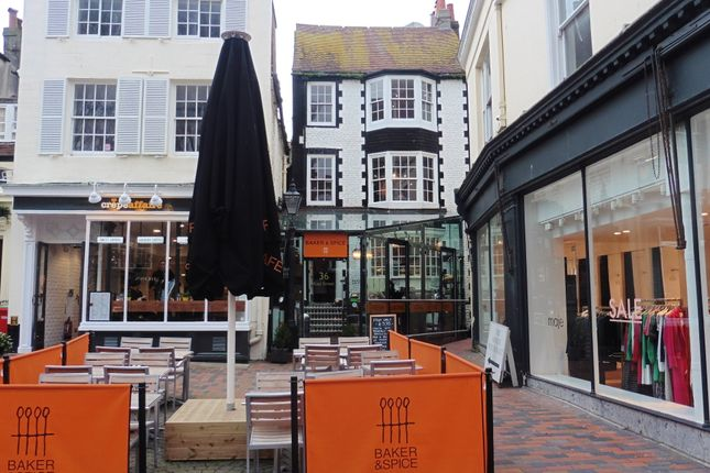 Thumbnail Restaurant/cafe to let in East Street, Brighton