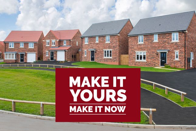 """Thumbnail Terraced house for sale in """"The Harcourt"""" at Cobblers Lane, Pontefract"""