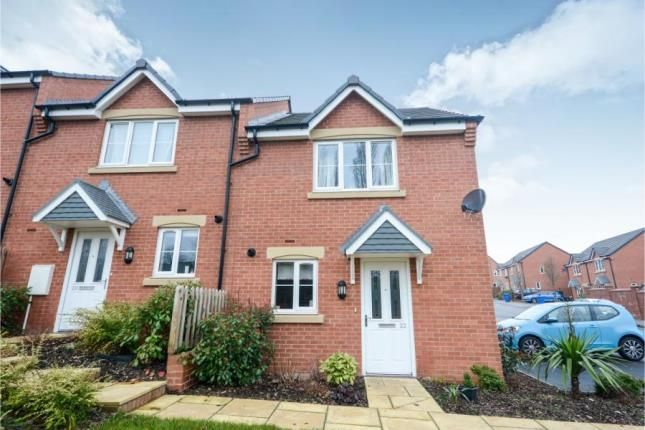 Thumbnail End terrace house for sale in Panthers Place, Chesterfield, Derbyshire