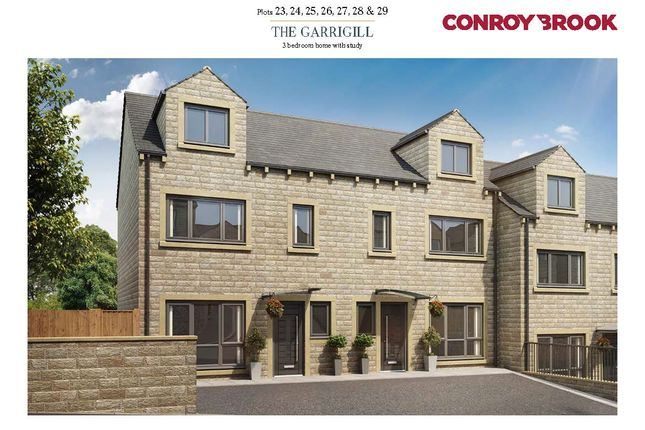 3 bed town house for sale in Cumberworth Lane, Denby Dale, Huddersfield HD8