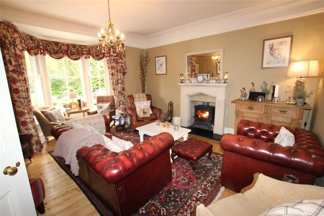 Lounge of The Knoll Country House, Lakeside, Ulverston, Cumbria LA12
