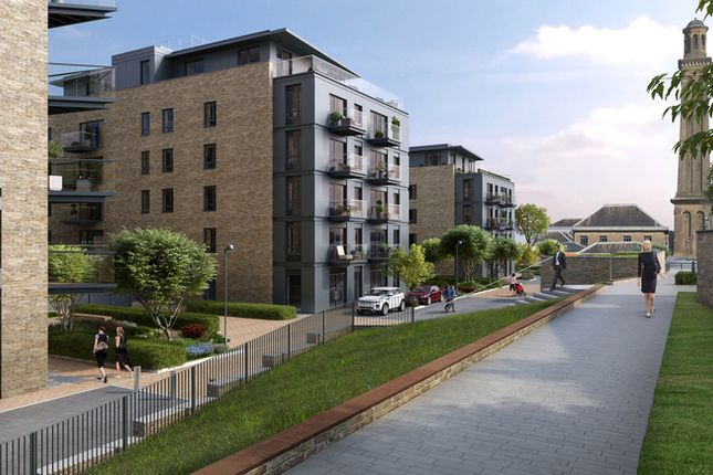 Thumbnail Flat for sale in Heritage Place, Brentford