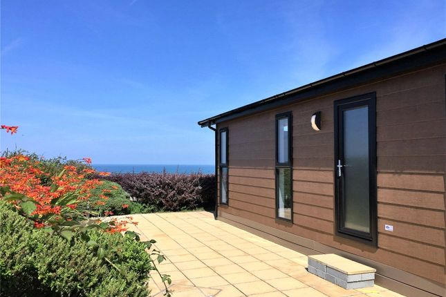 Thumbnail Detached bungalow for sale in Lodges At Fishguard Bay Resort, Dinas Cross, Newport