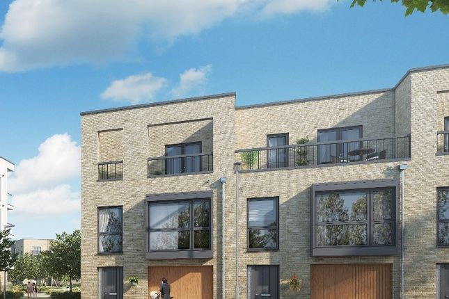 Thumbnail Terraced house for sale in Off Long Road, Trumpington, Cambridge