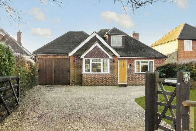 Thumbnail Detached bungalow for sale in Frog Grove Lane, Wood Street Village, Guildford