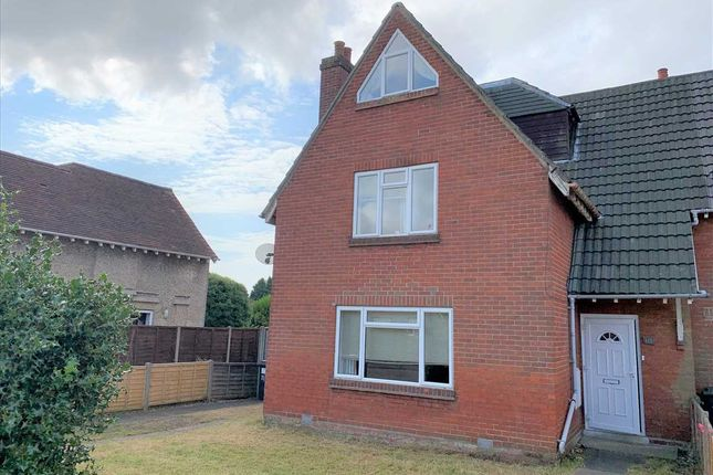 Thumbnail End terrace house to rent in Brassey Road, Winton, Bournemouth