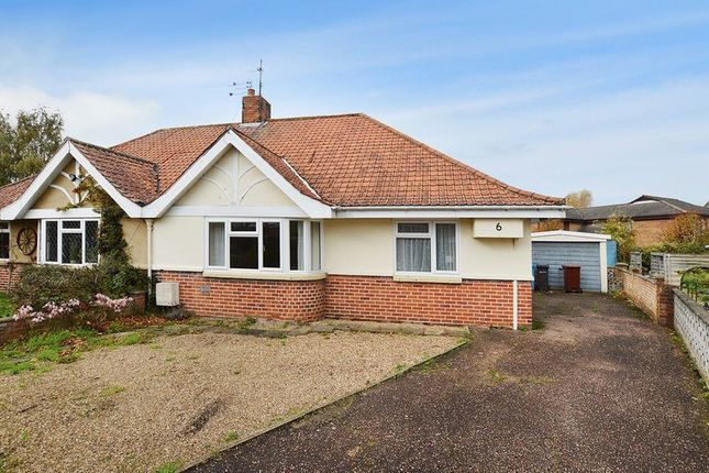 Thumbnail Semi-detached bungalow for sale in Glenmore Gardens, Norwich