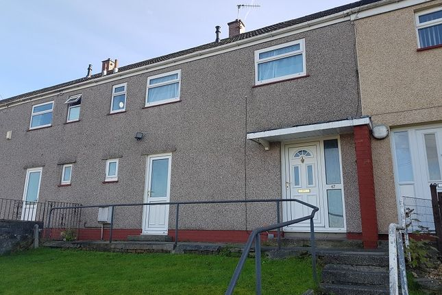 Thumbnail Terraced house to rent in Cardigan Crescent, Winch Wen, Swansea, City And County Of Swansea.