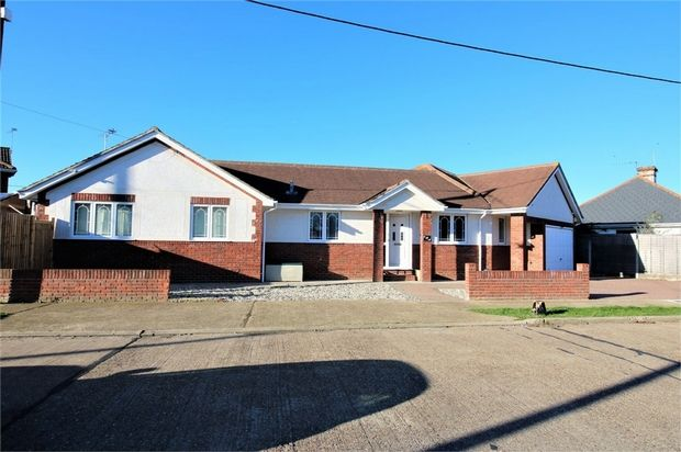 Thumbnail Detached bungalow for sale in Downham Road, Canvey Island, Essex