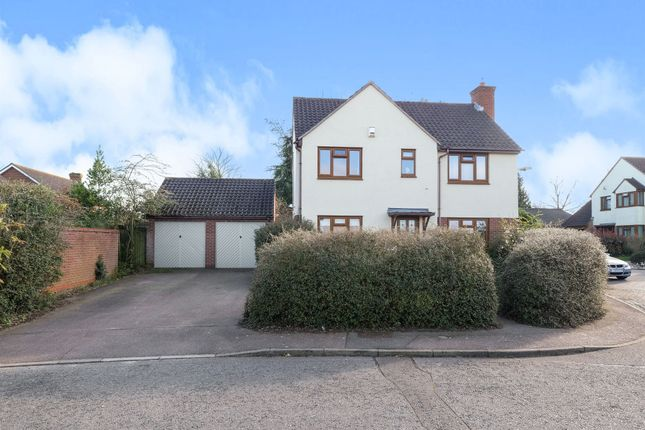 Thumbnail Detached house for sale in Blair Close, Rushmere St. Andrew, Ipswich